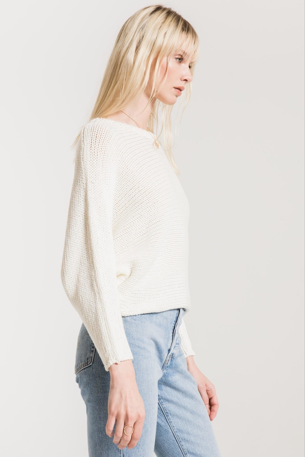 rag poets Cipriani Crewneck Sweater - Front Full Image