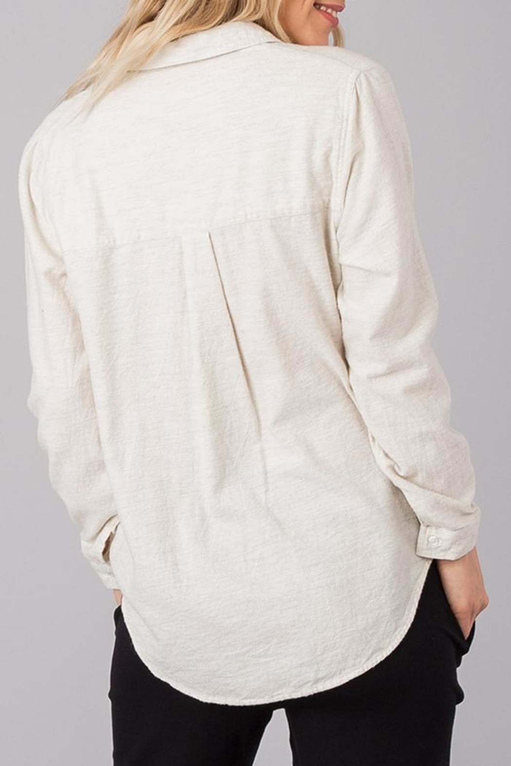 rag poets Classic Soft Button-Down - Front Full Image