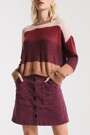 rag poets Color Block Sweater - Product Mini Image