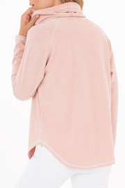 rag poets Cowl-Neck Pullover Sweater - Front full body