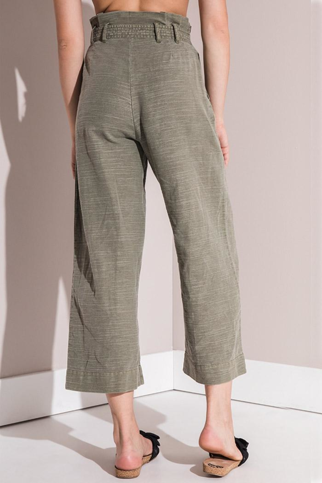 rag poets Culotte Pants - Side Cropped Image