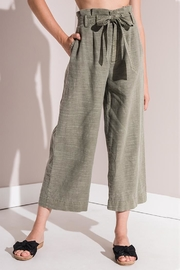 rag poets Culotte Pants - Front cropped