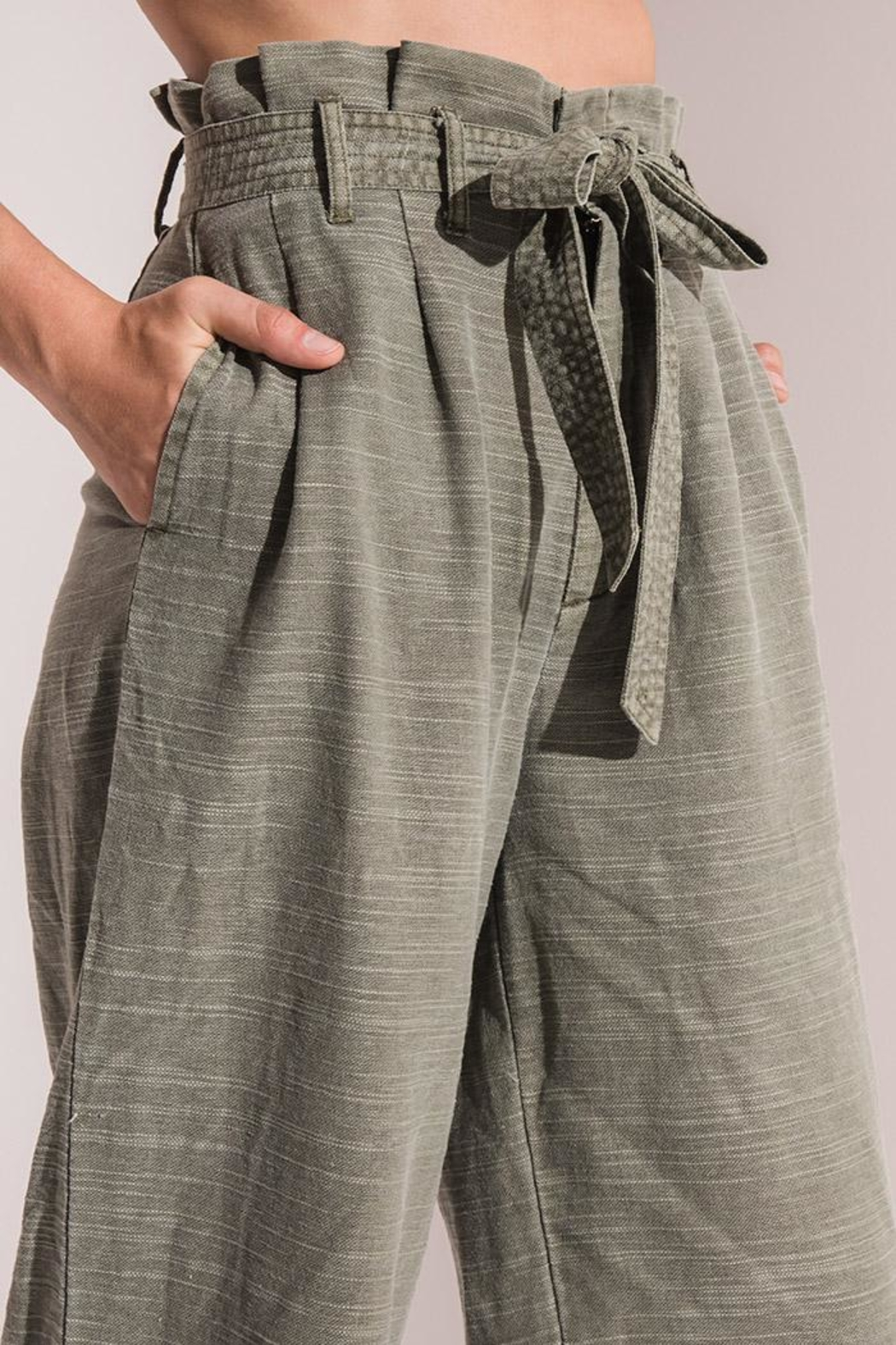 rag poets Culotte Pants - Front Full Image