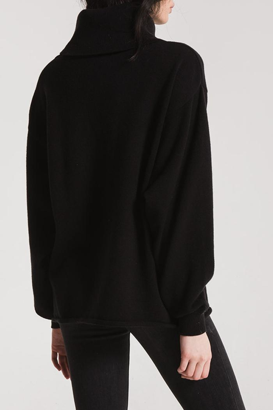 rag poets Greene Turtleneck Sweaters - Side Cropped Image