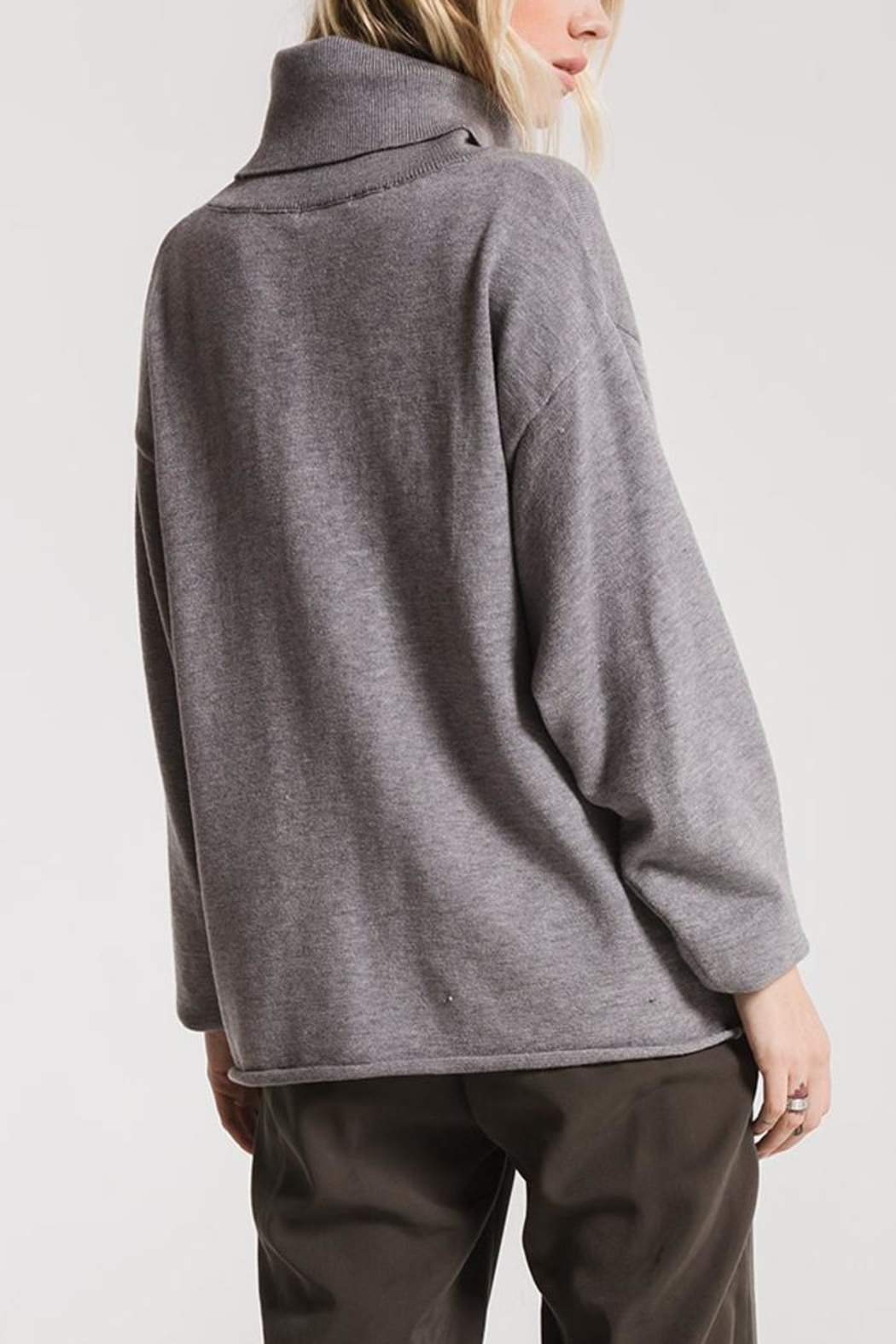 rag poets Greene Turtleneck Sweaters - Front Full Image