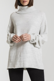 rag poets Greene Turtleneck Sweaters - Front cropped