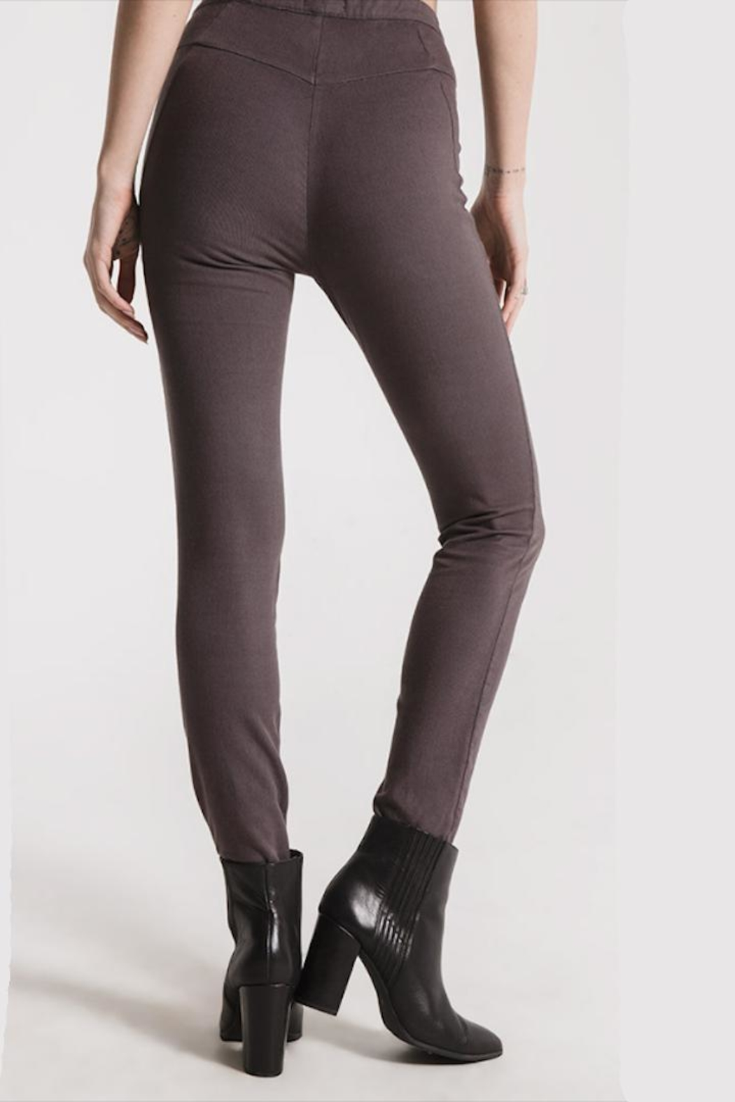 rag poets Grey Fitted Pant - Front Full Image