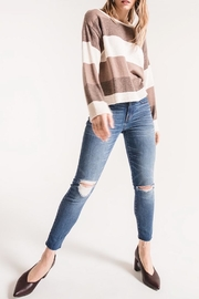 rag poets Lexi Striped Sweater - Product Mini Image