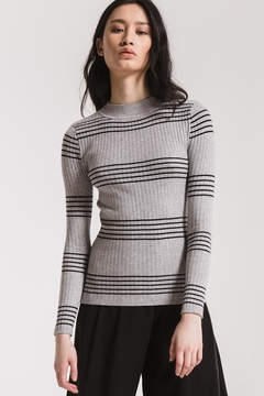 rag poets Linden Striped Sweater - Product List Image