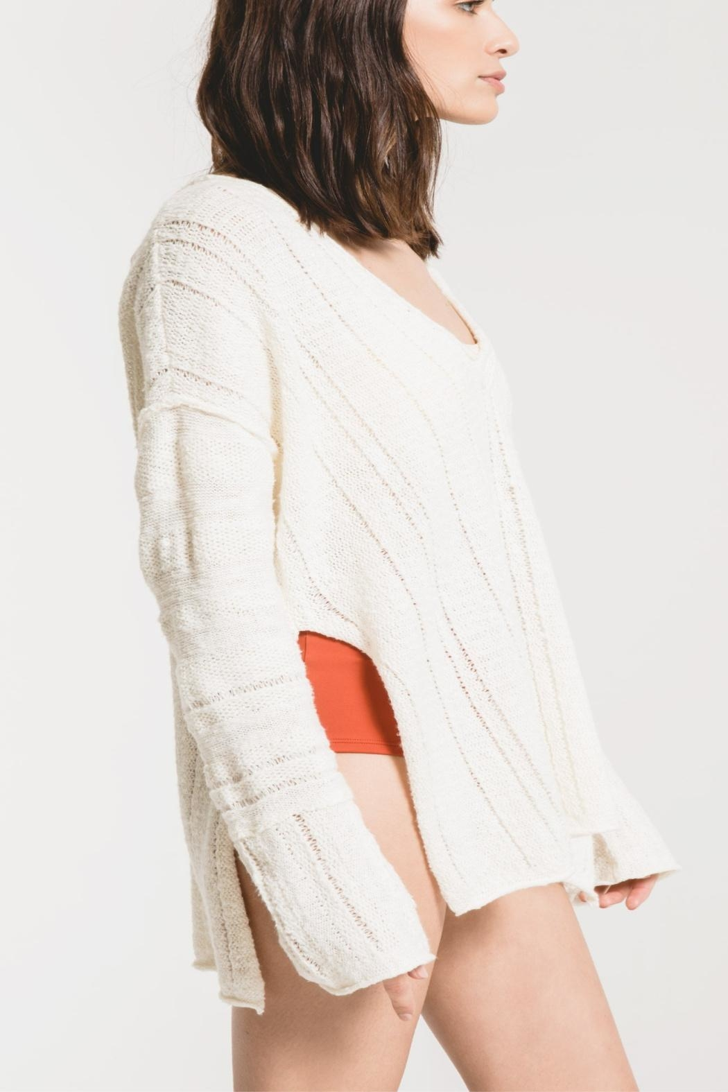 rag poets Maiori Tunic Sweater - Side Cropped Image