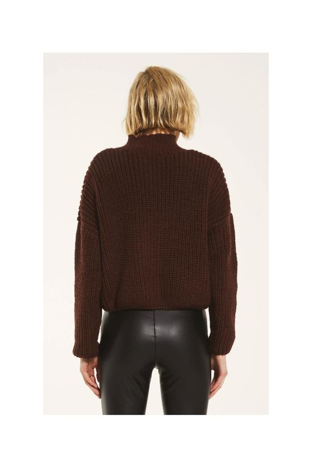 rag poets Marylebone Sweater - Back Cropped Image