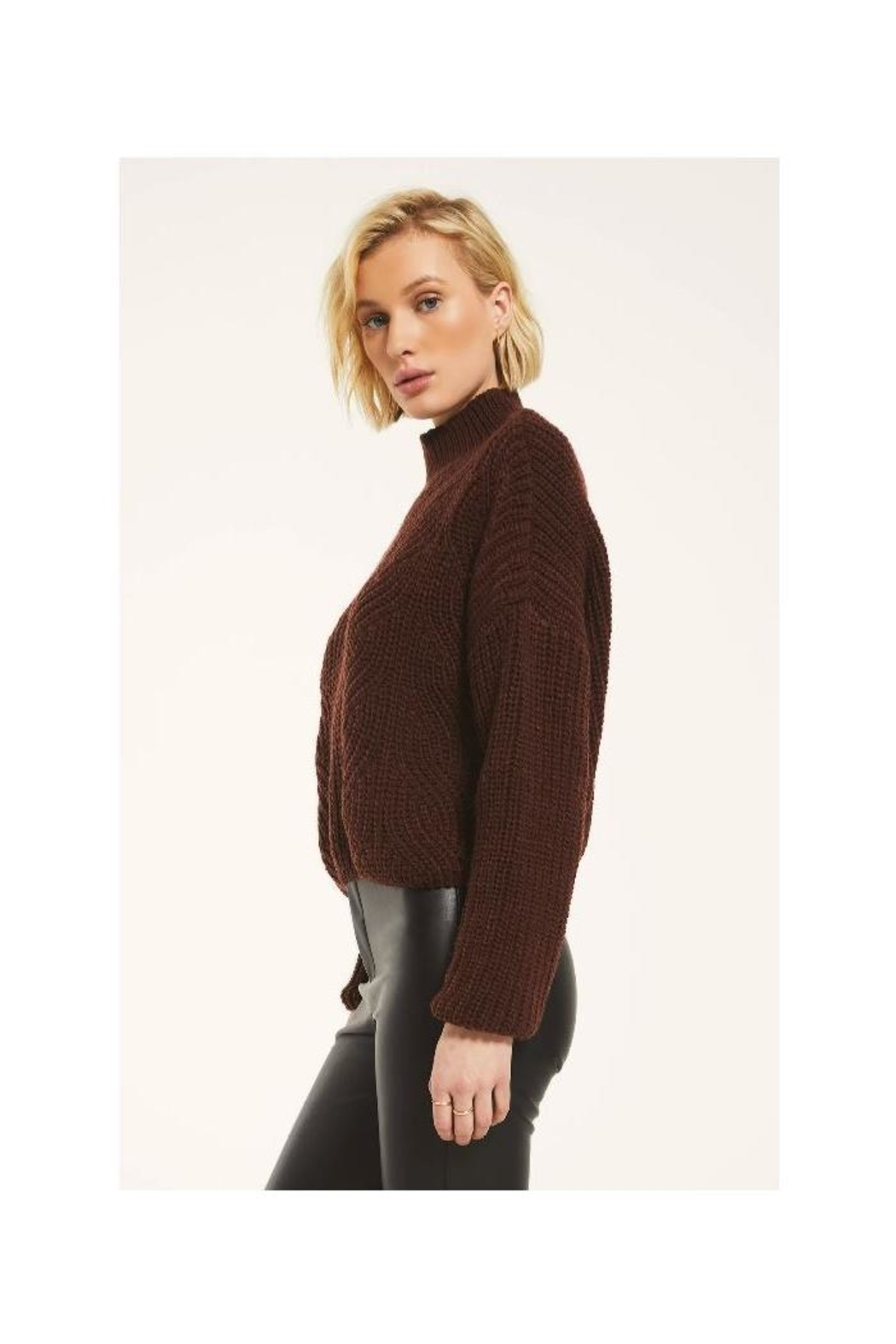 rag poets Marylebone Sweater - Side Cropped Image