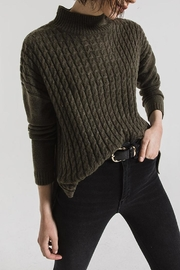 rag poets Mathilde Mock Sweater - Front full body