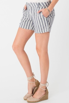 rag poets Maui Striped Shorts - Product List Image