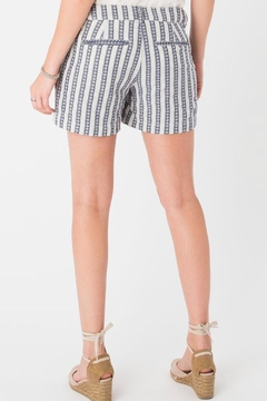 rag poets Maui Striped Shorts - Alternate List Image
