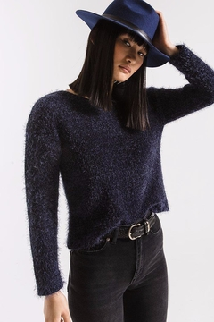 Shoptiques Product: Metropolitan Eyelash Sweater