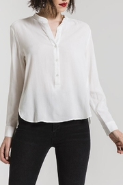 rag poets Morgan Button-Up Blouse - Product Mini Image