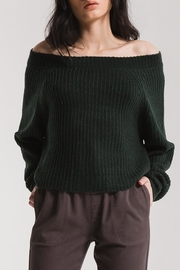 rag poets Off Shoulder Sweater - Product Mini Image
