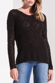 rag poets Open Back Sweater - Front cropped