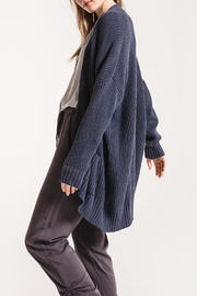 rag poets Oversized Open Cardigan - Front full body