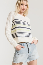 rag poets Pop-Of Color Sweater - Product Mini Image
