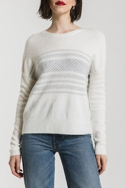 rag poets Rebekka Striped Sweater - Front cropped