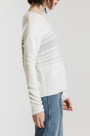 rag poets Rebekka Striped Sweater - Side cropped