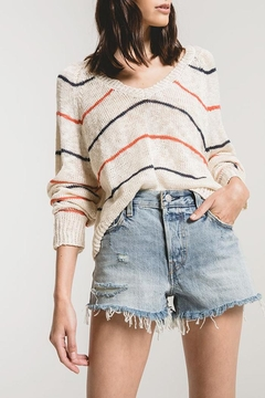 rag poets Sicily Striped Sweater - Product List Image