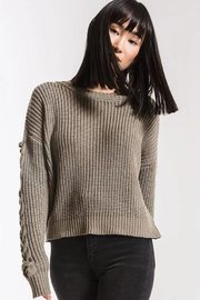 rag poets Slope Sweater - Front cropped