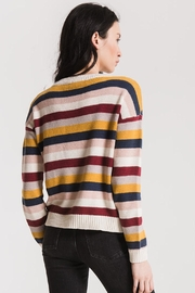 rag poets Smith Striped Sweater - Side cropped