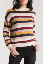 rag poets Smith Striped Sweater - Product Mini Image