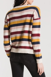 rag poets Smith Striped Sweater - Front full body