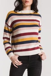 rag poets Smith Striped Sweater - Front cropped