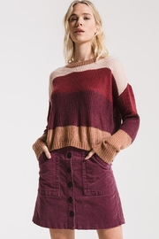 rag poets Striped Warren Sweater - Product Mini Image