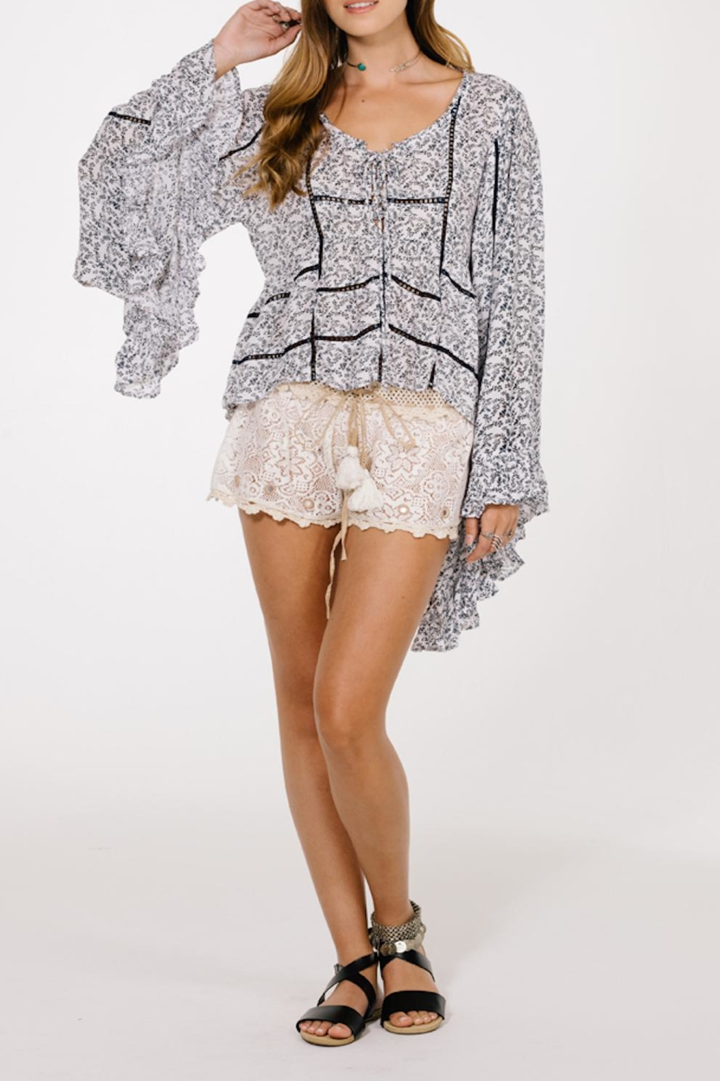 Raga Wild Love Blouse - Front Cropped Image