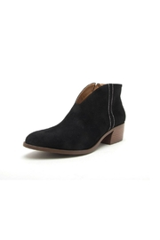 Qupid Rager Faux-Suede Bootie - Product Mini Image