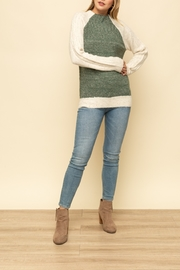 Mystree Raglan Mockneck SWT - Product Mini Image