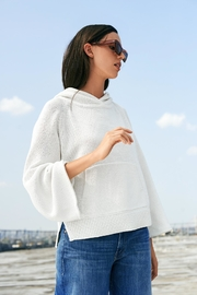 White + Warren Raglan Pocket Hoodie - Product Mini Image