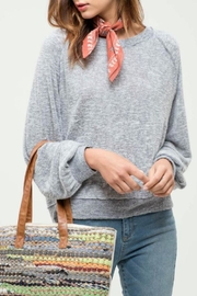 Blu Pepper Raglan Sweater Top - Product Mini Image