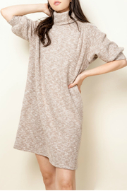 Thml Raglan Turtleneck Dress - Product Mini Image
