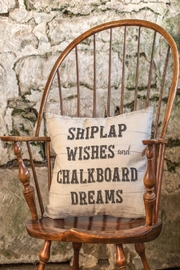 Ragon House Shiplap Wished Pillow - Product Mini Image
