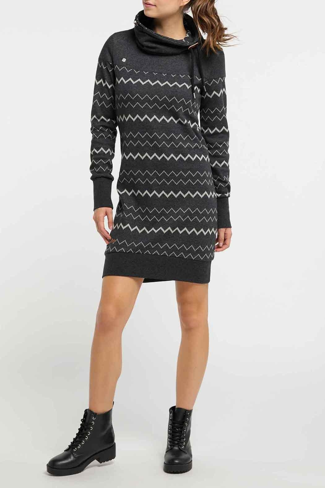 Ragwear Chloe Sweater Dress - Side Cropped Image
