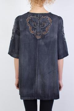 Raibu Denim Tunic Top - Alternate List Image