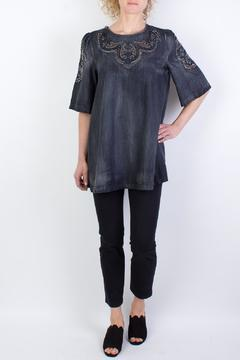 Raibu Denim Tunic Top - Product List Image