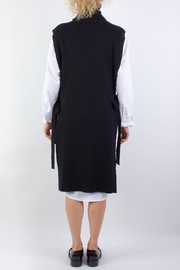 Raibu Knitted Cover Dress - Side cropped