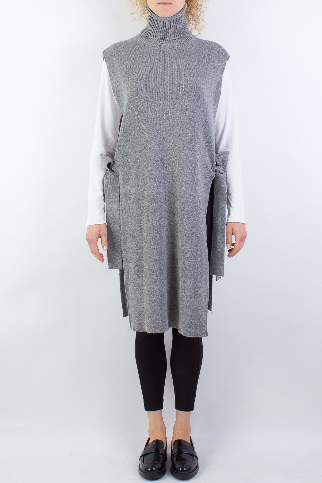 Raibu Knitted Cover Dress - Front Full Image