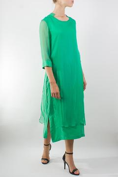 Raibu Long Silk Dress - Product List Image