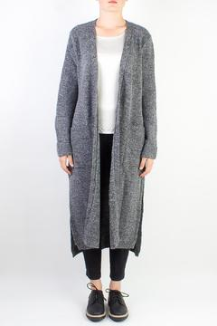 Raibu Long Woolen Vest - Product List Image