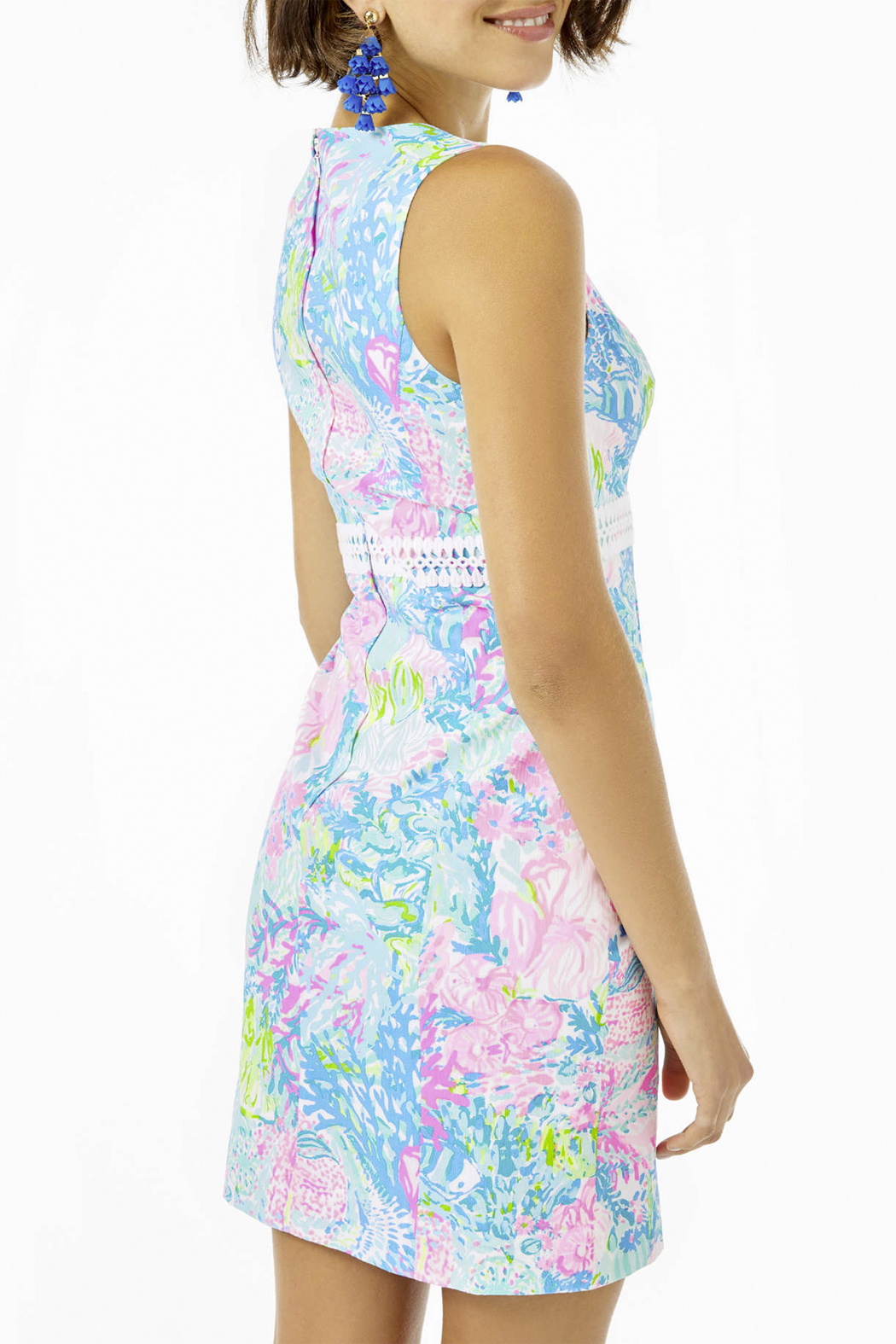 Lilly Pulitzer  Railee Shift Dress - Front Full Image