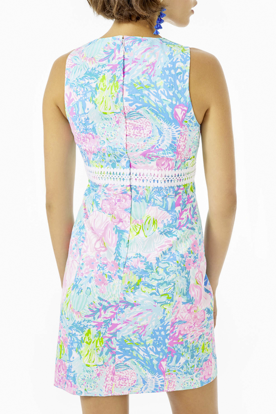 Lilly Pulitzer  Railee Shift Dress - Side Cropped Image